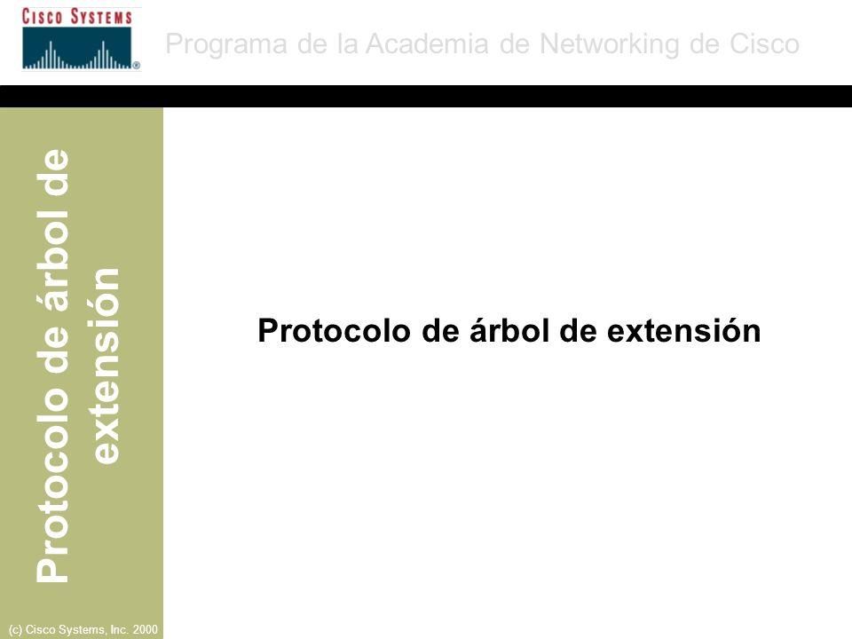 Protocolo de árbol de extensión