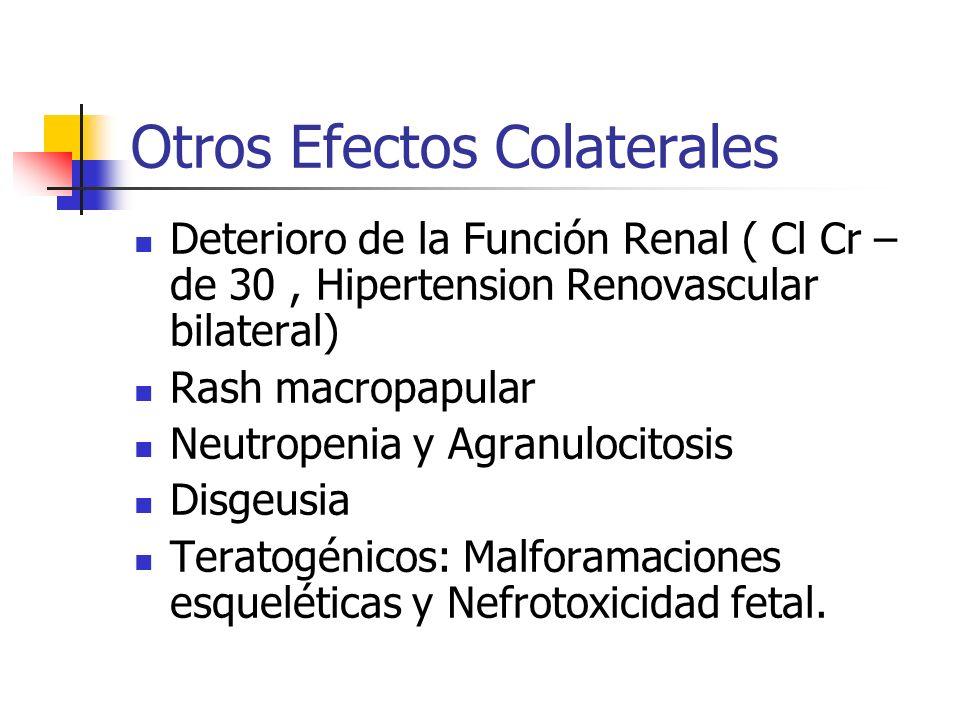 Otros Efectos Colaterales