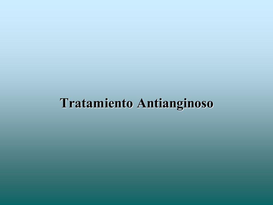 Tratamiento Antianginoso