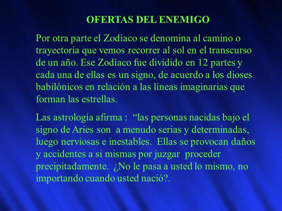 OFERTAS DEL ENEMIGO