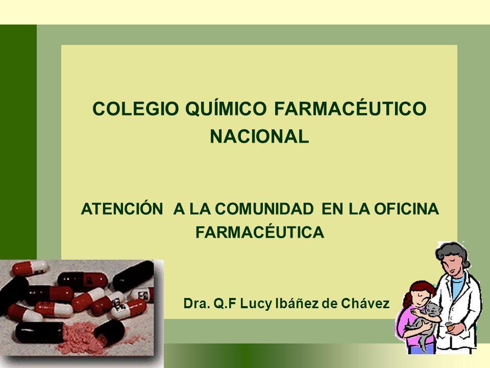 COLEGIO QUÍMICO FARMACÉUTICO NACIONAL