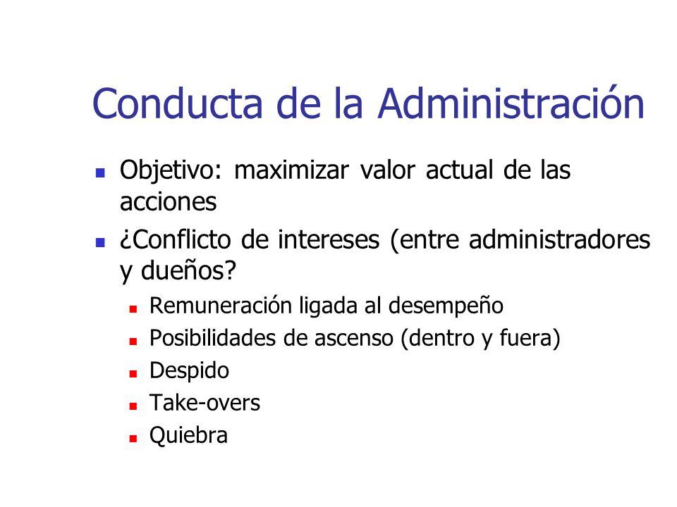Conducta de la Administración