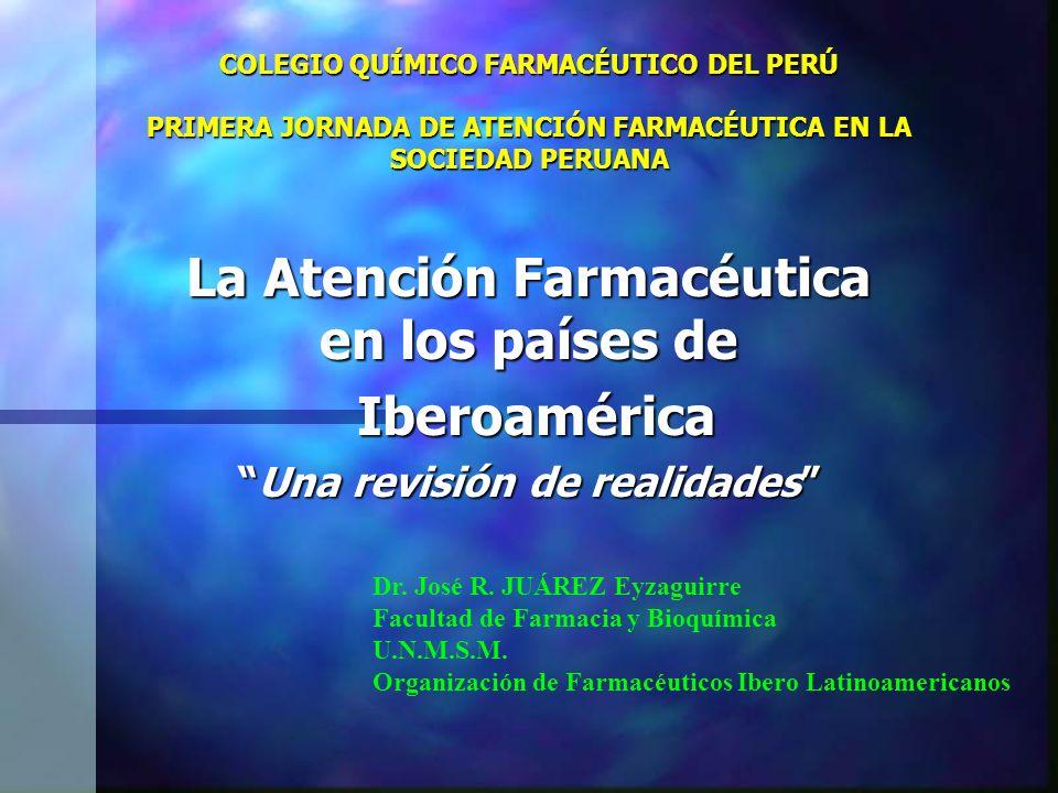 La Atención Farmacéutica en los países de Una revisión de realidades