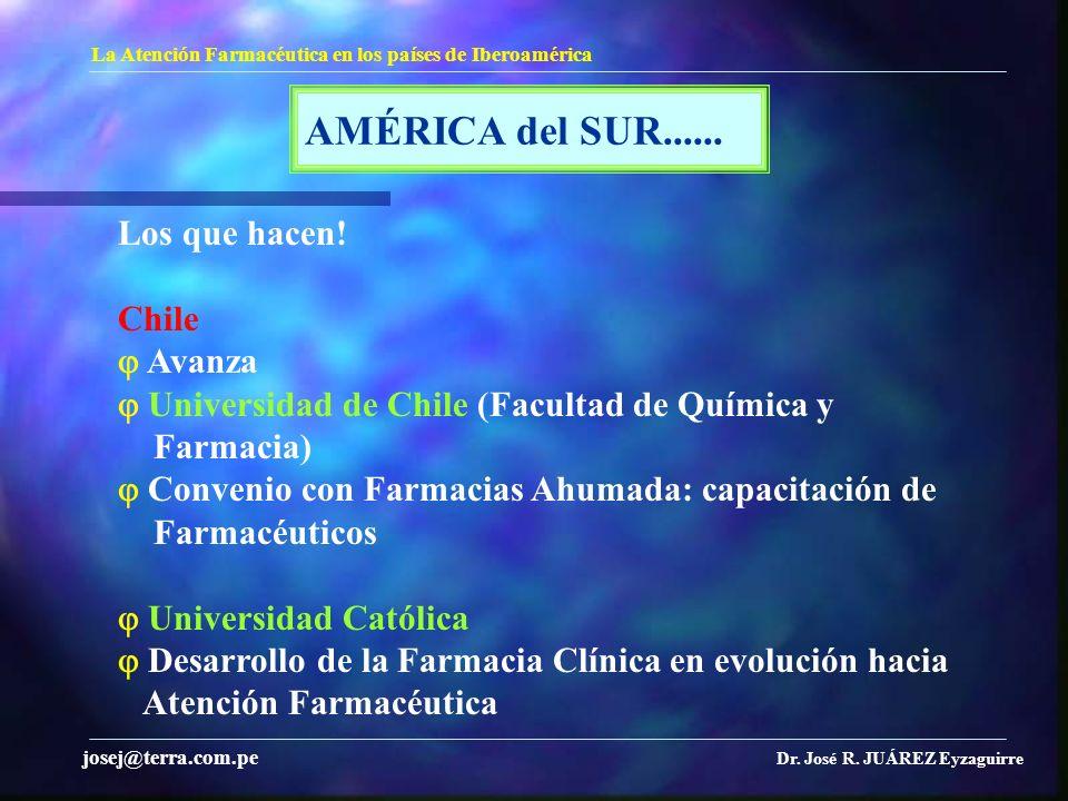 AMÉRICA del SUR...... Los que hacen! Chile  Avanza