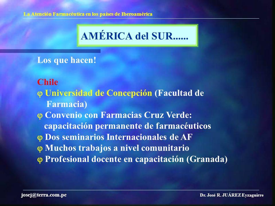AMÉRICA del SUR...... Los que hacen! Chile