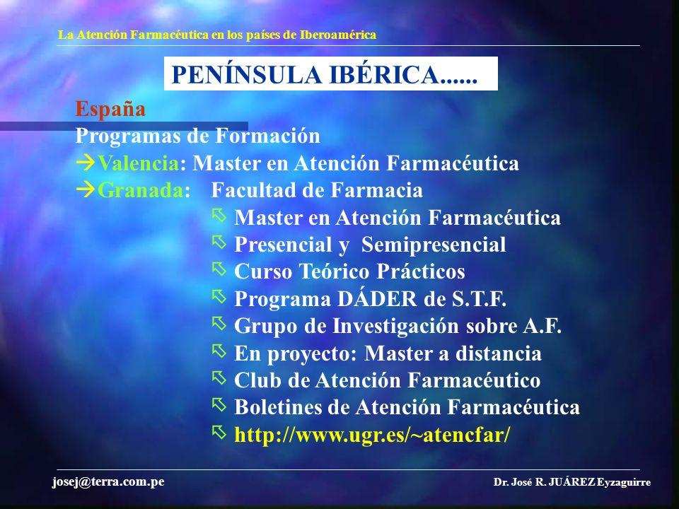 PENÍNSULA IBÉRICA...... España Programas de Formación