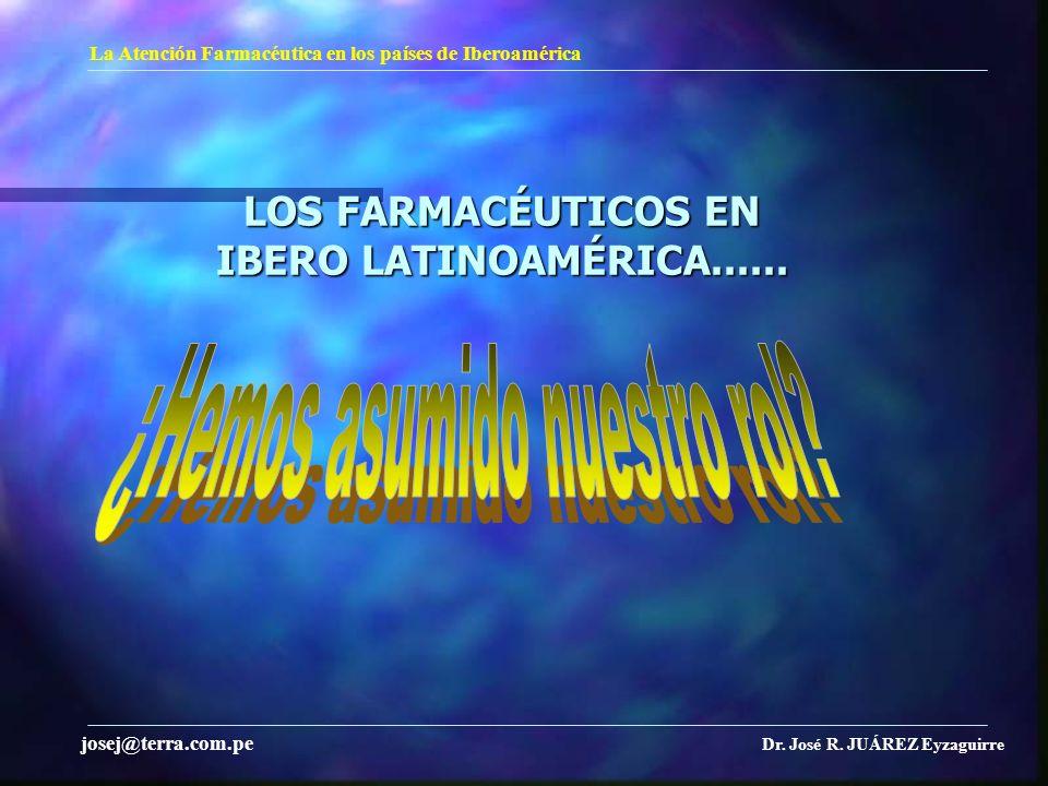 LOS FARMACÉUTICOS EN IBERO LATINOAMÉRICA......