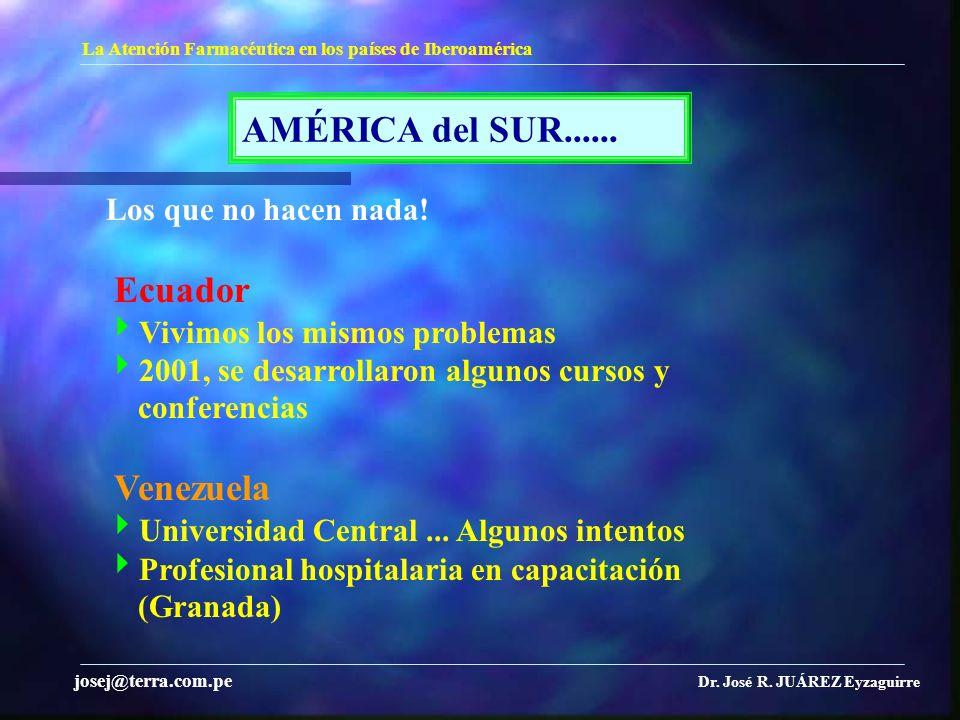 AMÉRICA del SUR...... Los que no hacen nada! Ecuador