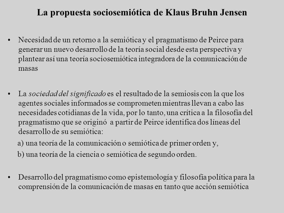 La propuesta sociosemiótica de Klaus Bruhn Jensen