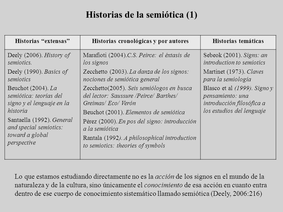 Historias de la semiótica (1)