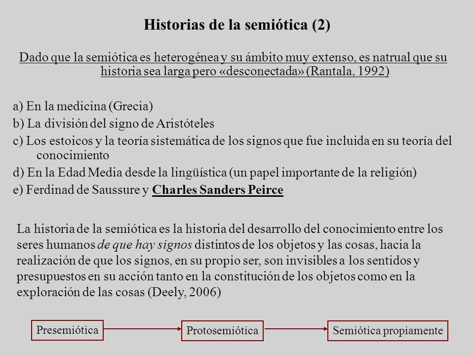Historias de la semiótica (2)