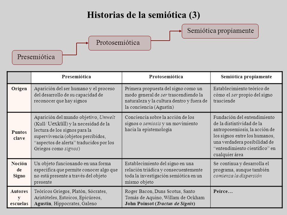 Historias de la semiótica (3)