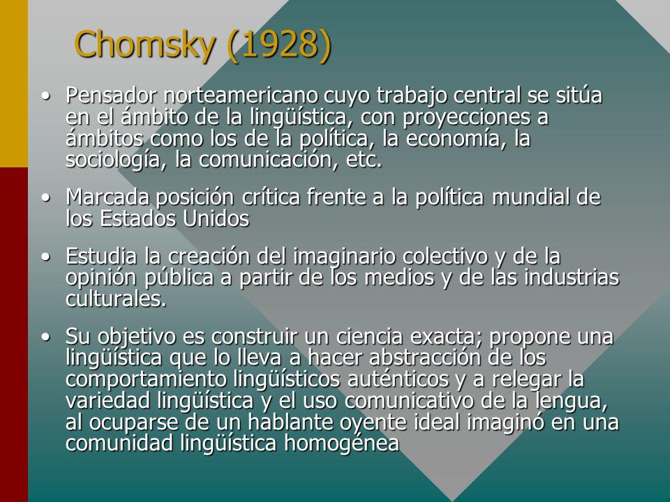 Chomsky (1928)