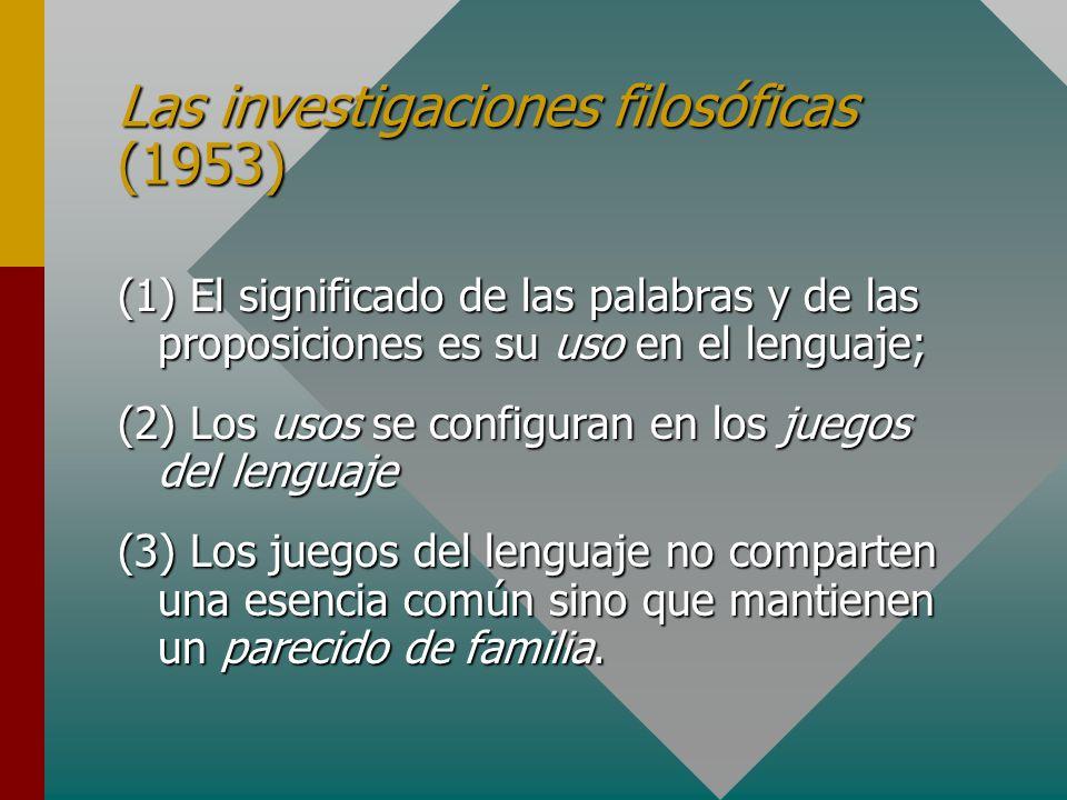 Las investigaciones filosóficas (1953)