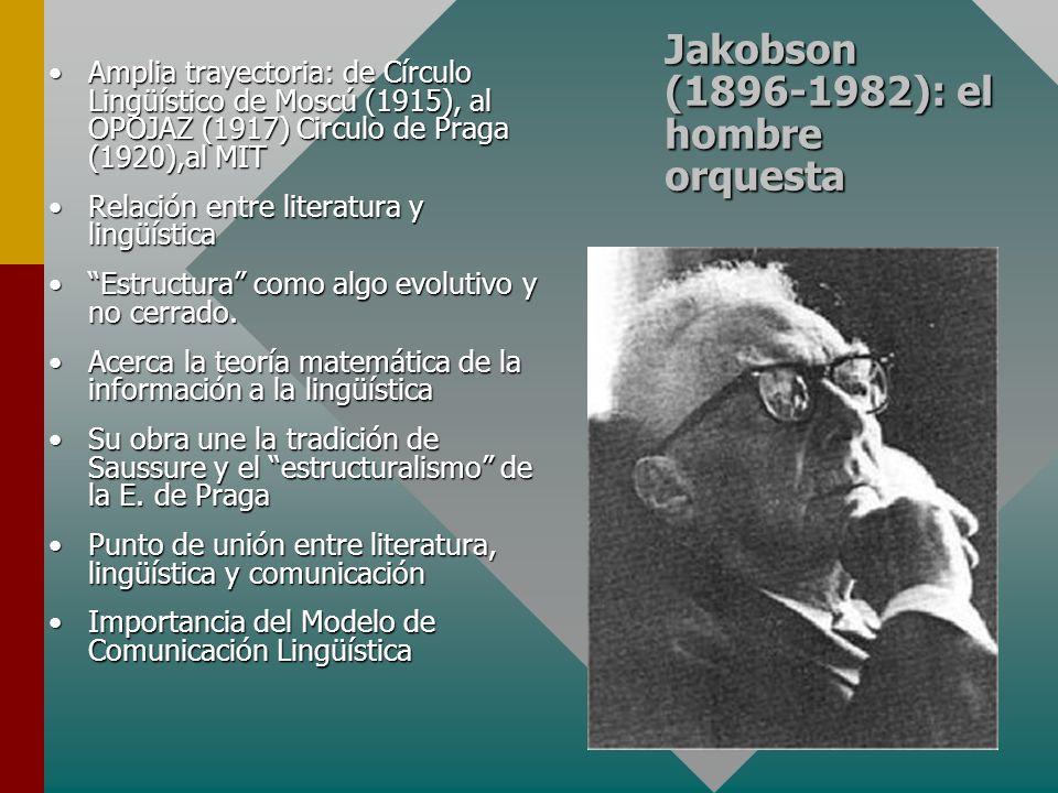 Jakobson (1896-1982): el hombre orquesta