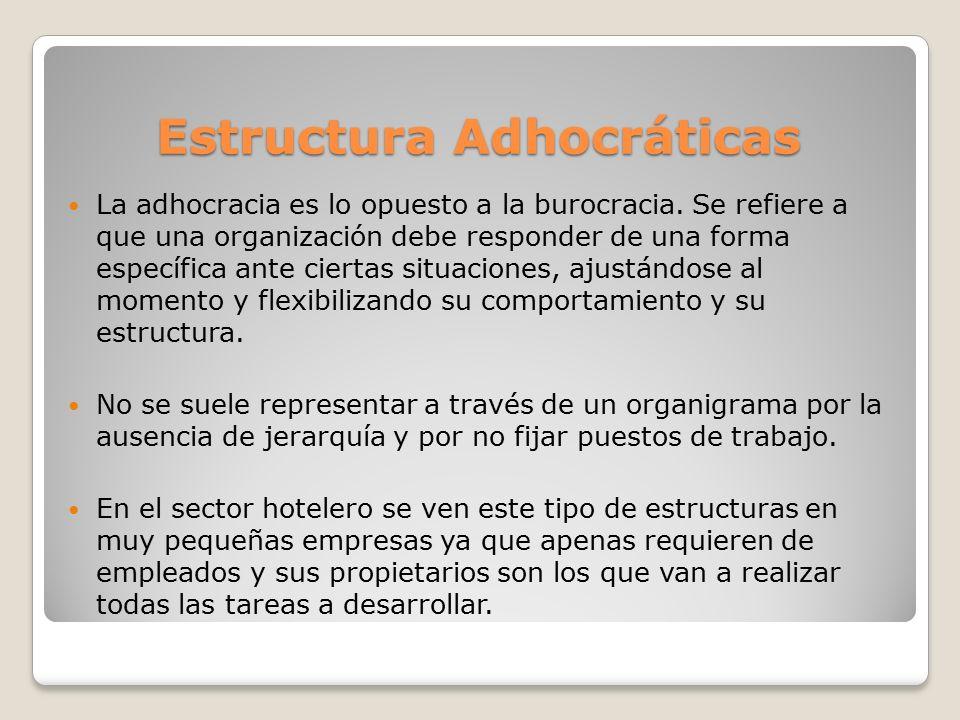 Estructura Adhocráticas