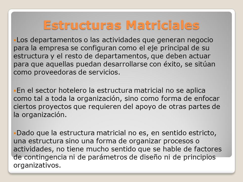 Estructuras Matriciales