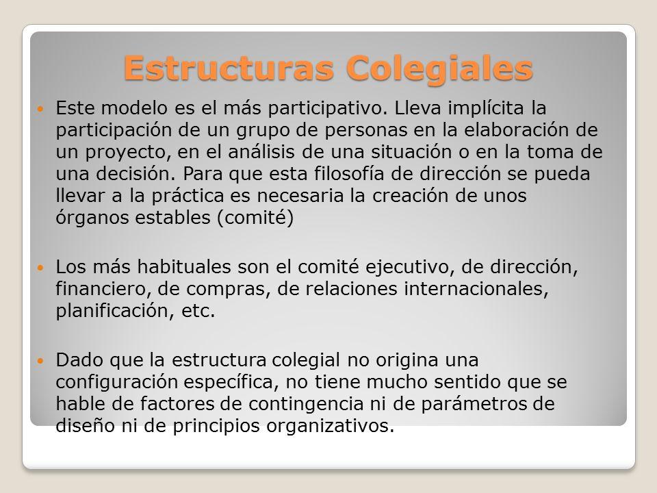 Estructuras Colegiales