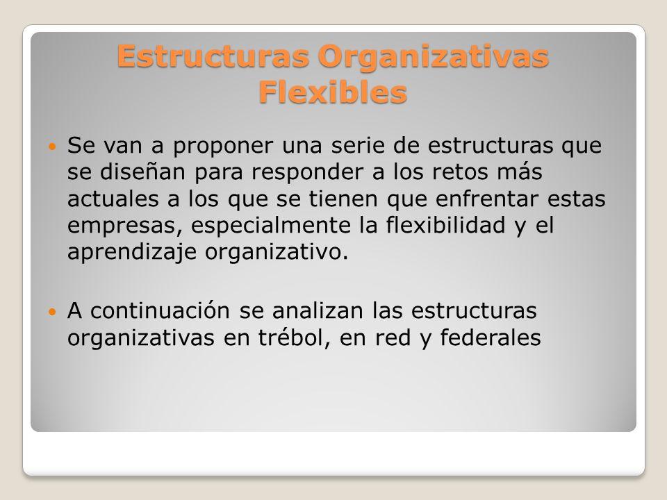 Estructuras Organizativas Flexibles