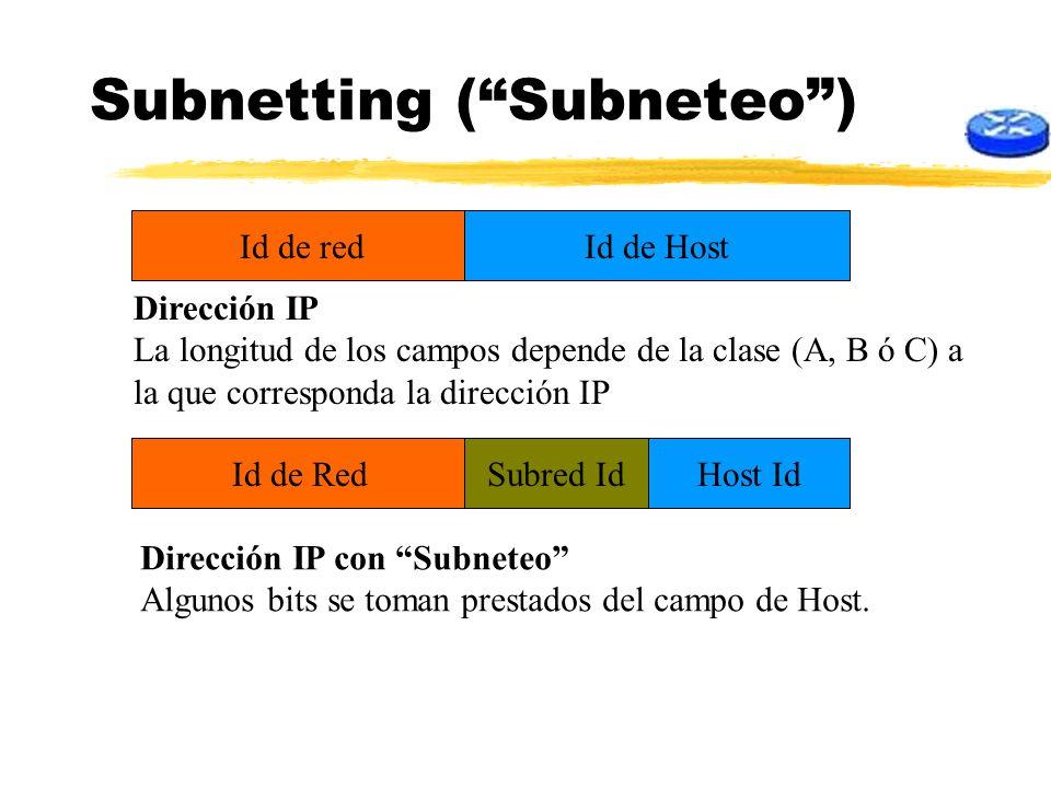 Subnetting ( Subneteo )