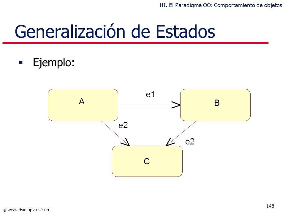 Generalización de Estados