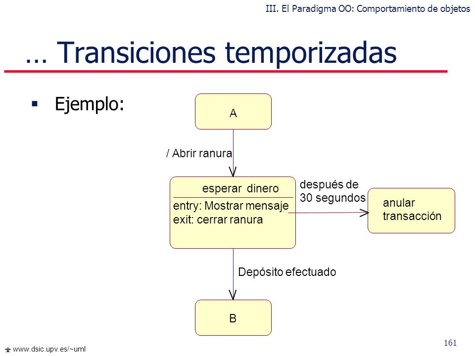 … Transiciones temporizadas