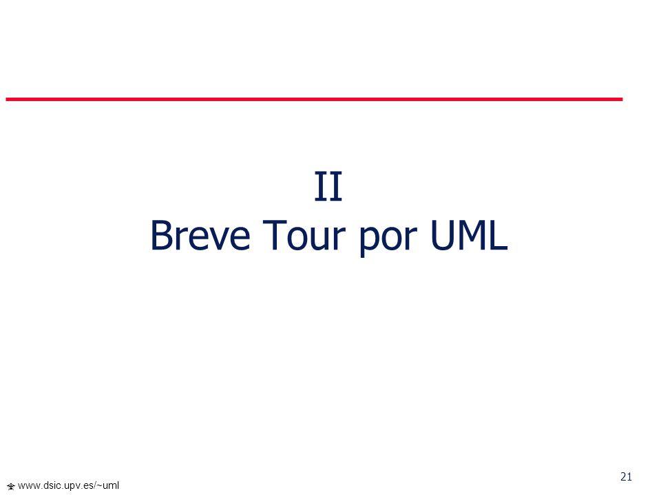II Breve Tour por UML