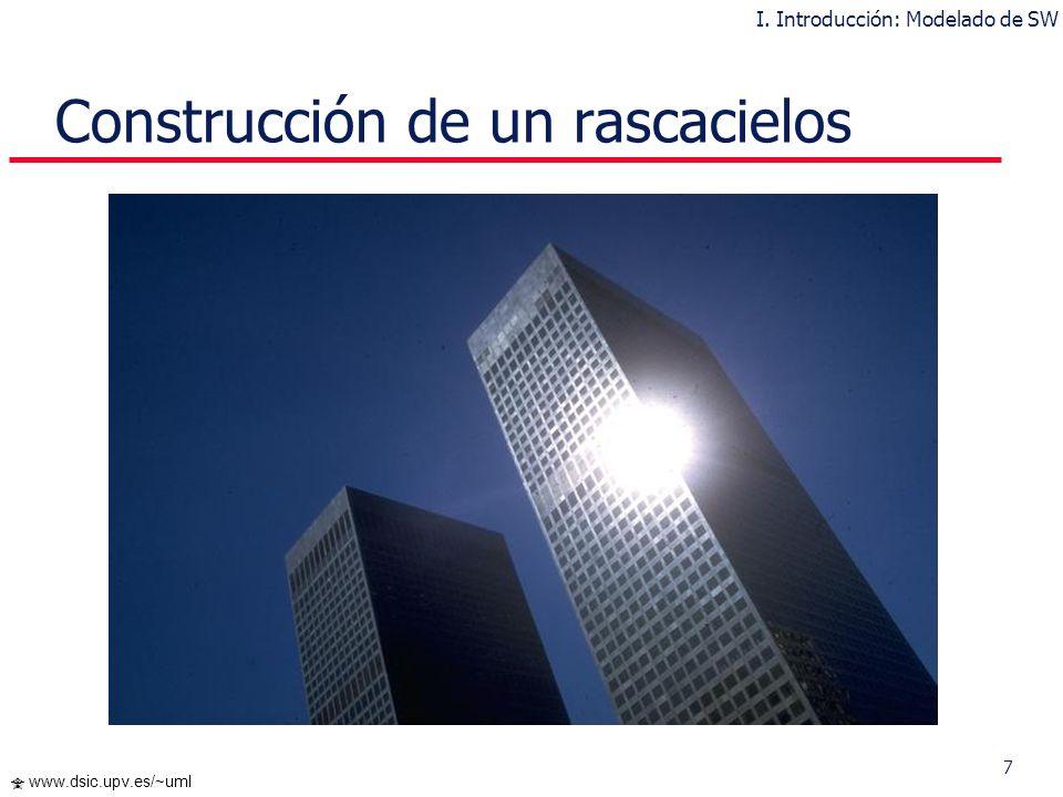 Construcción de un rascacielos