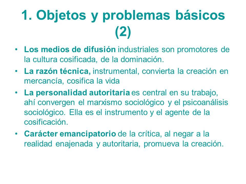 1. Objetos y problemas básicos (2)