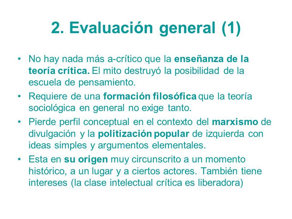2. Evaluación general (1)