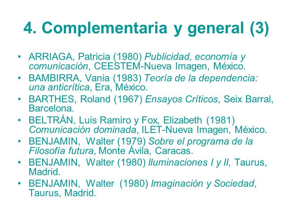 4. Complementaria y general (3)