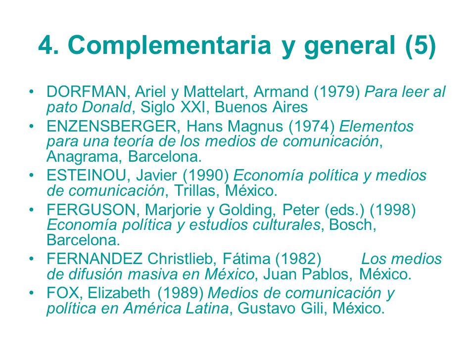 4. Complementaria y general (5)