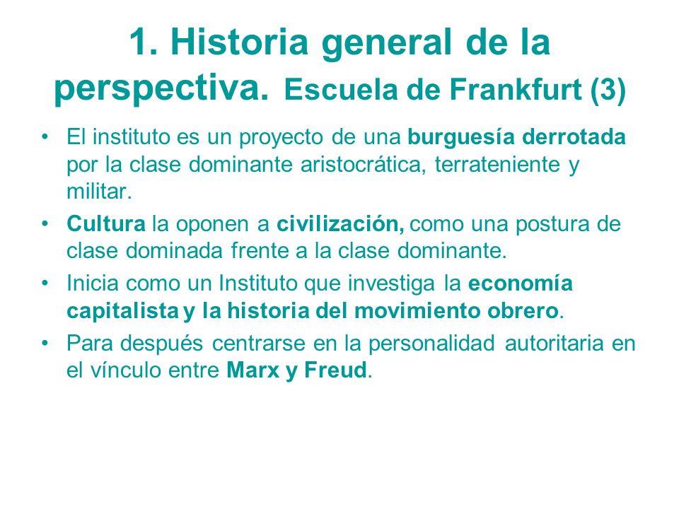 1. Historia general de la perspectiva. Escuela de Frankfurt (3)