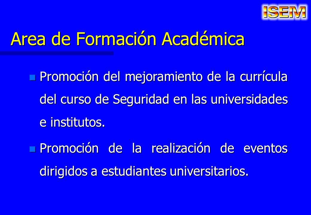 Area de Formación Académica