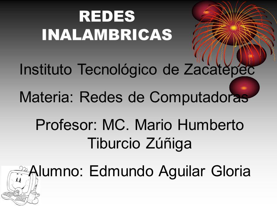Instituto Tecnológico de Zacatepec Materia: Redes de Computadoras