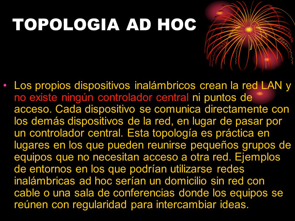 TOPOLOGIA AD HOC