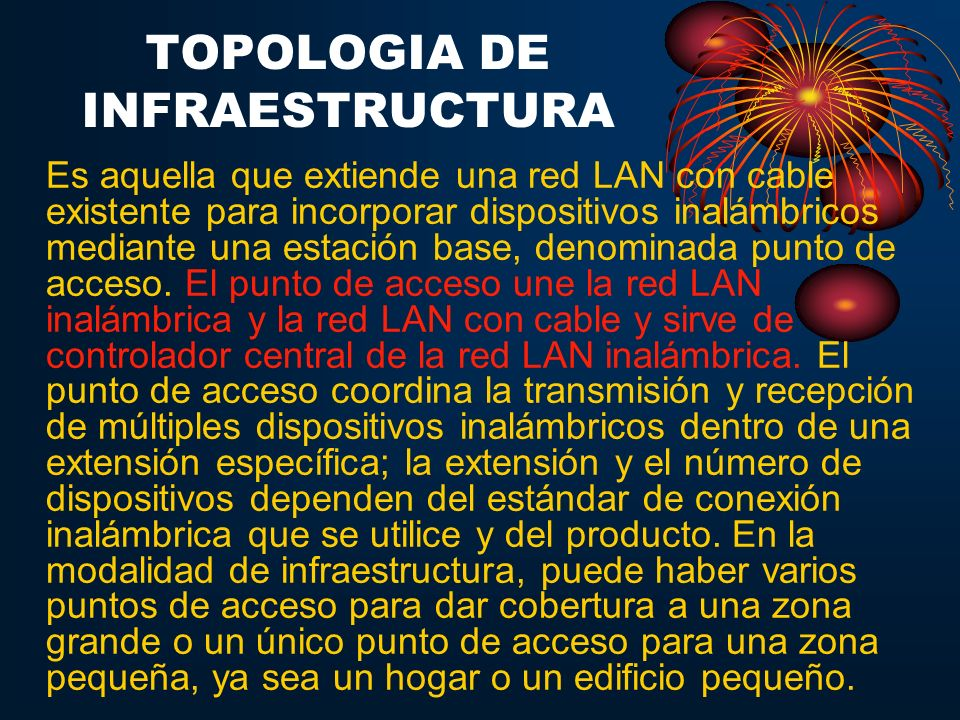 TOPOLOGIA DE INFRAESTRUCTURA