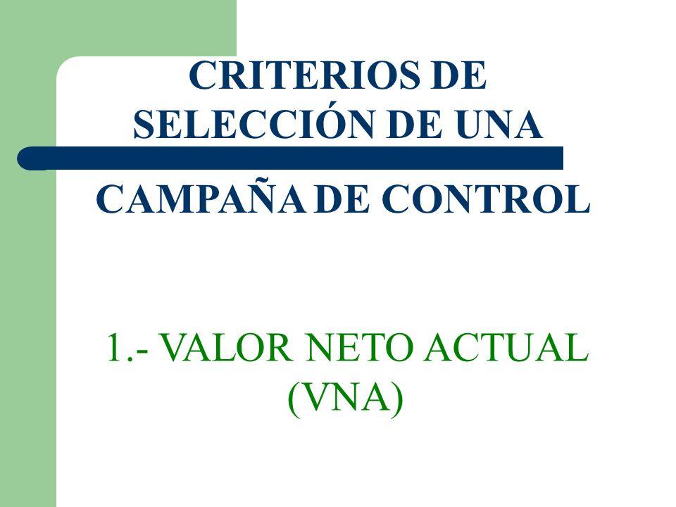 CRITERIOS DE SELECCIÓN DE UNA