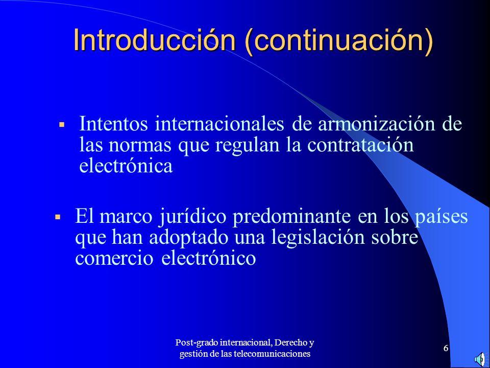 Introducción (continuación)