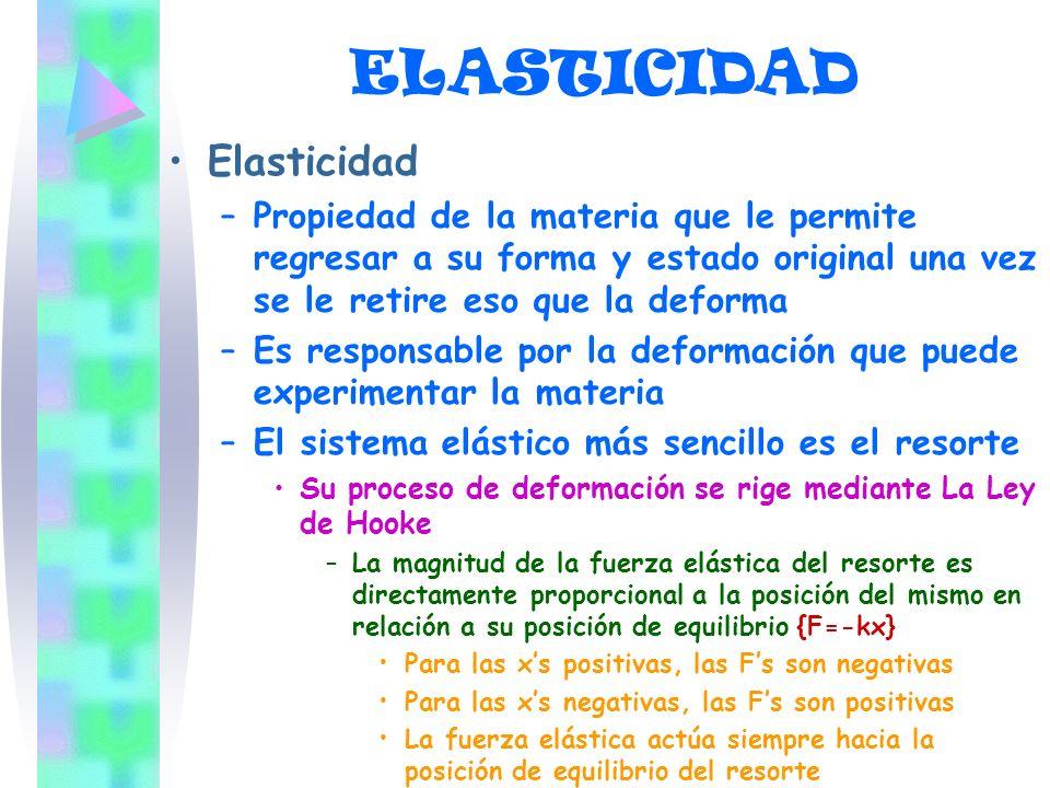 ELASTICIDAD Elasticidad