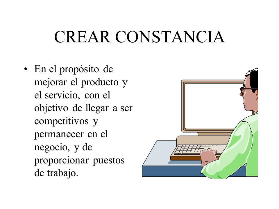 CREAR CONSTANCIA
