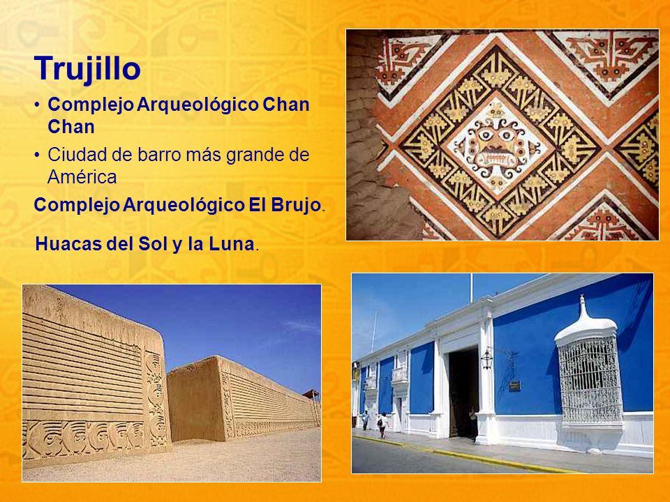 Trujillo Complejo Arqueológico Chan Chan