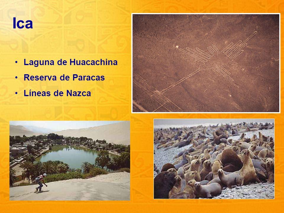 Ica Laguna de Huacachina Reserva de Paracas Líneas de Nazca