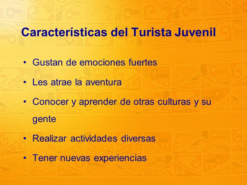 Características del Turista Juvenil