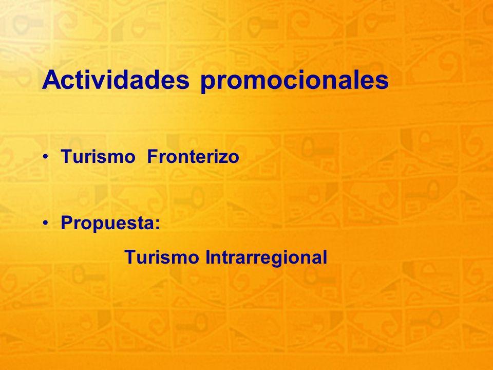 Actividades promocionales