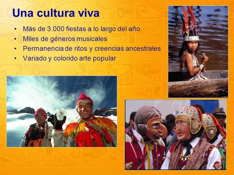 Una cultura viva Más de 3.000 fiestas a lo largo del año