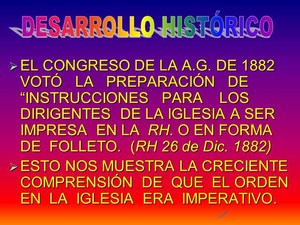 DESARROLLO HISTÓRICO