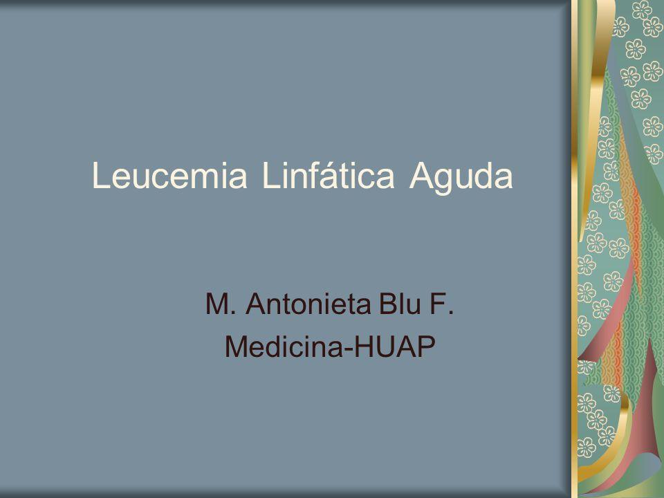 Leucemia Linfática Aguda
