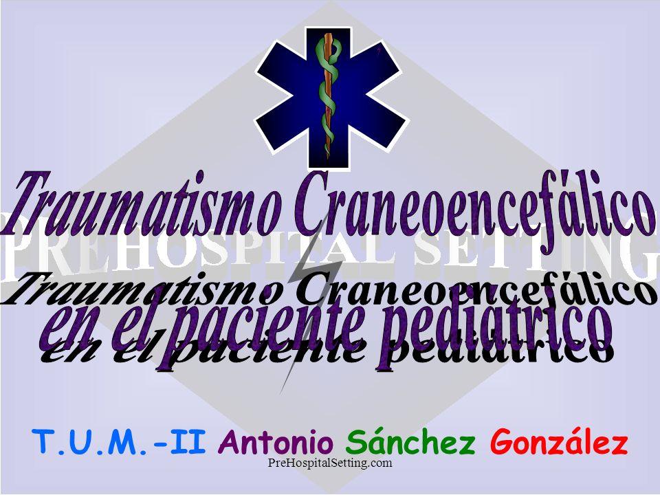 Traumatismo Craneoencefálico en el paciente pediátrico