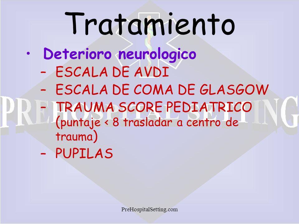 Tratamiento Deterioro neurologico ESCALA DE AVDI
